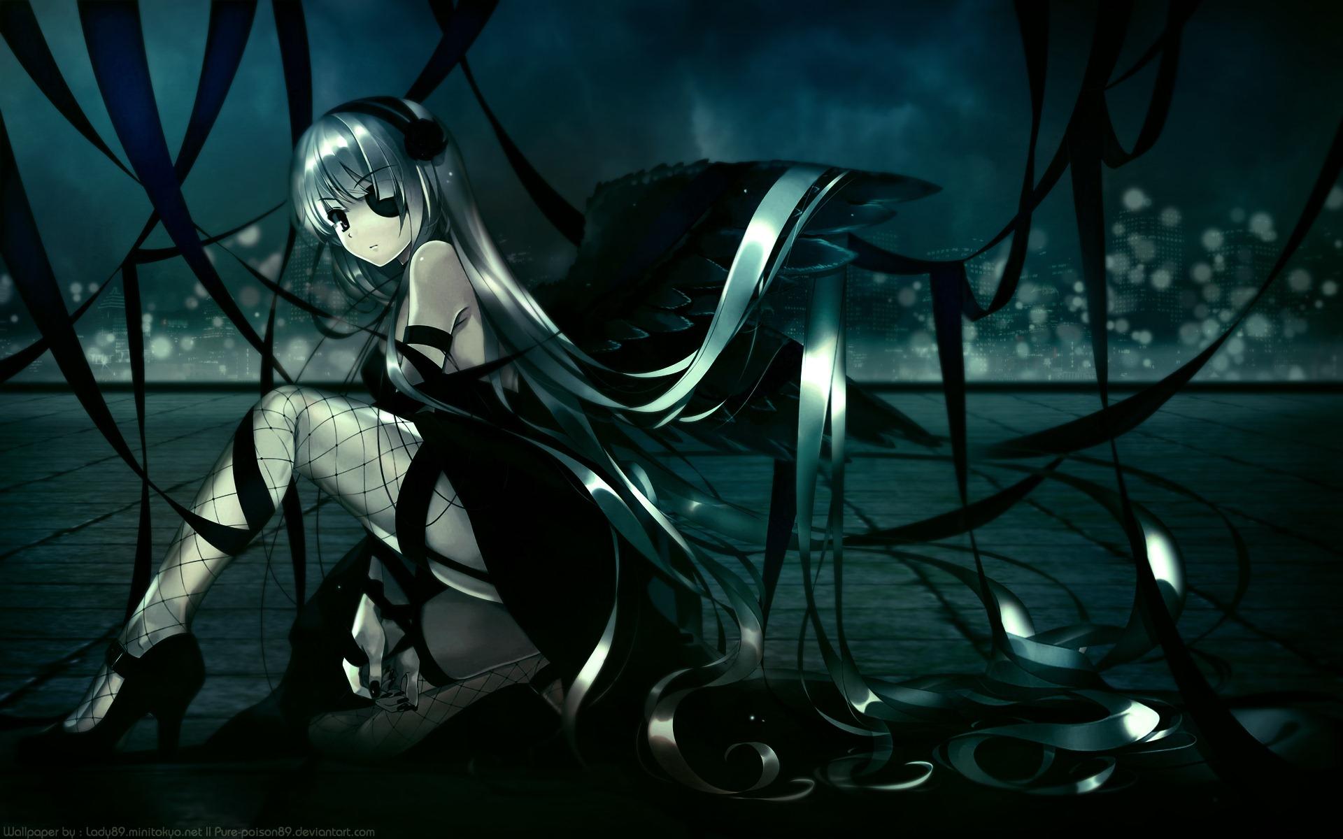 Dark anime wallpaper hd wallpapersafari - Wallpaper dark anime ...