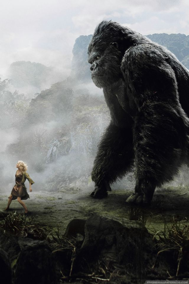 King kong wallpaper wallpapersafari - King kong 2005 hd wallpapers ...