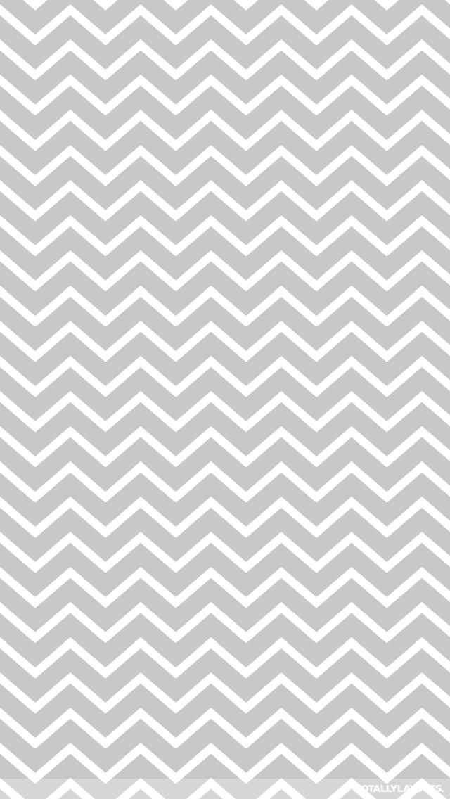 Grey Zig Zag White Stripes iPhone Wallpaper   Stripe Wallpapers 640x1136