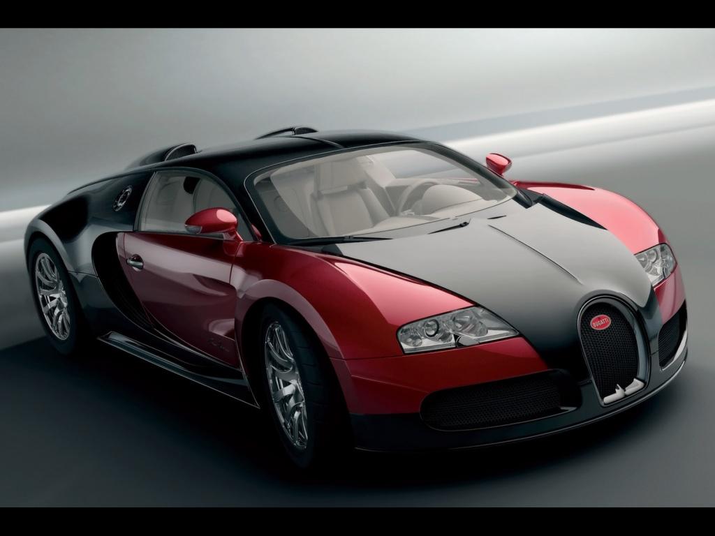 1024x768 Bugatti Veyron red desktop PC and Mac wallpaper 1024x768