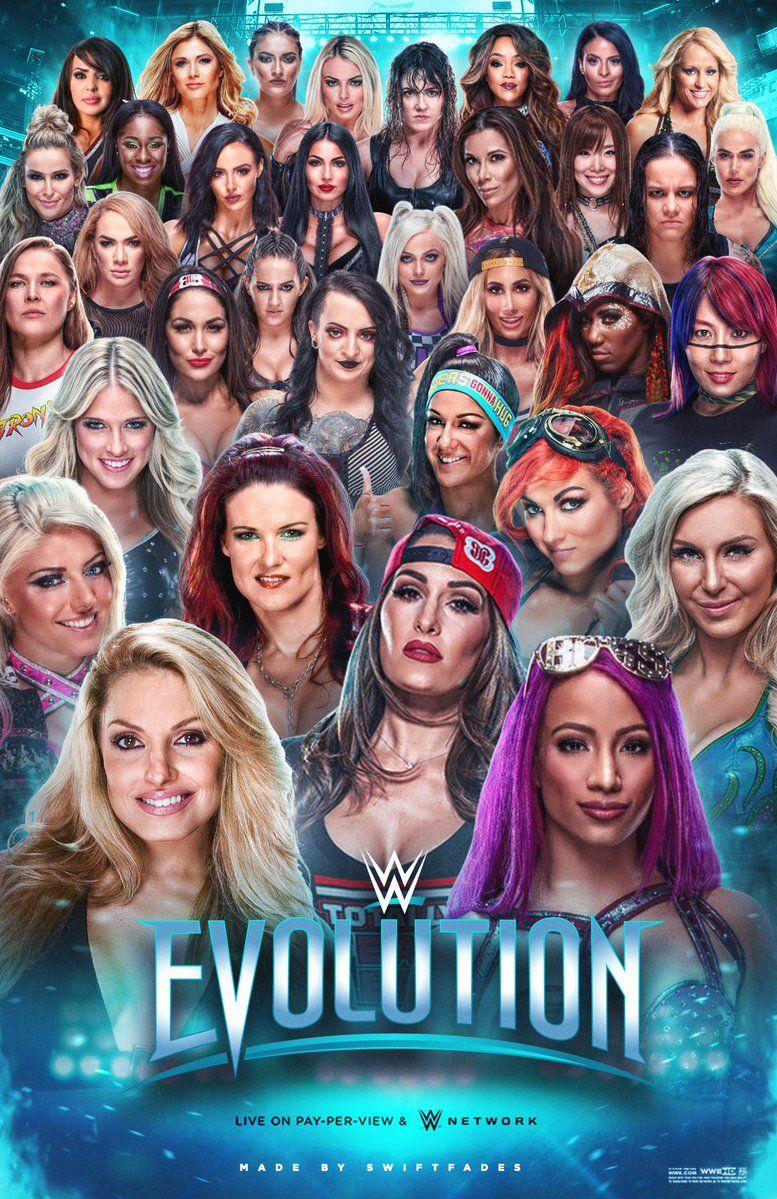 WWE Evolution WWE Wwe nxt divas Wwe ppv Wwe events 777x1199