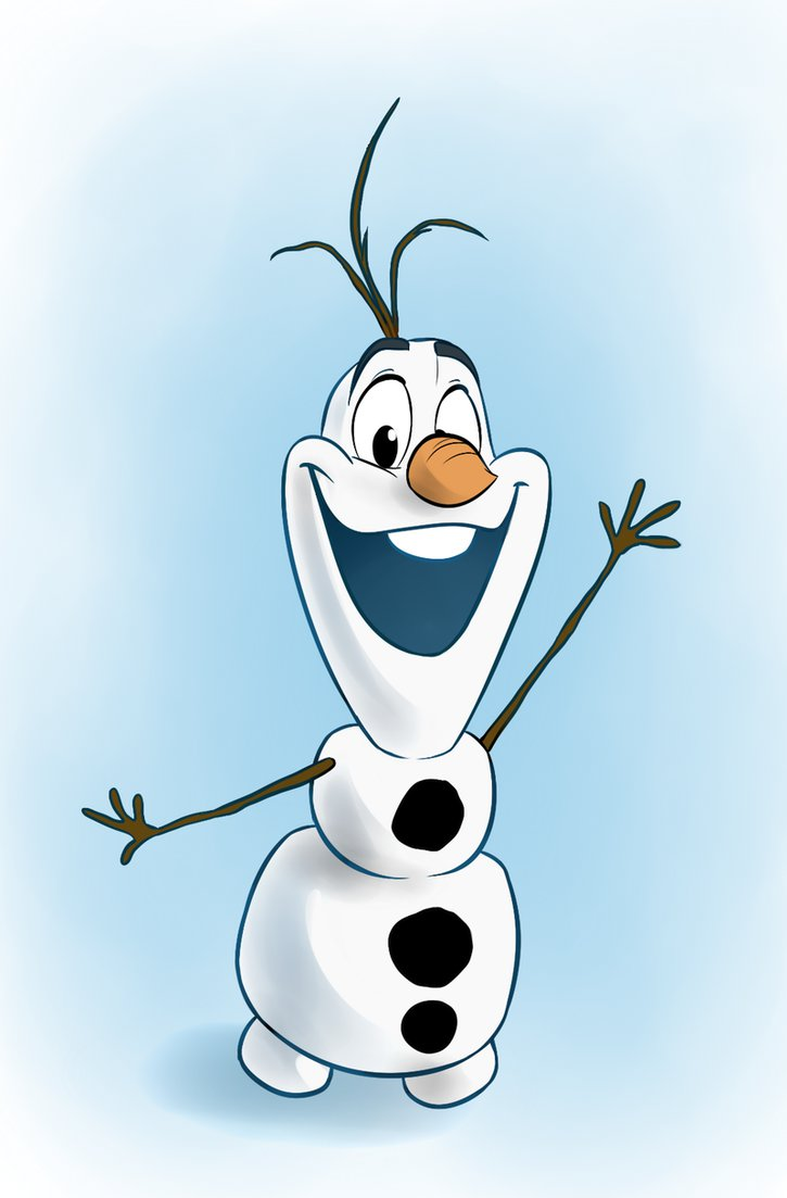 Olaf The Snowman Melting
