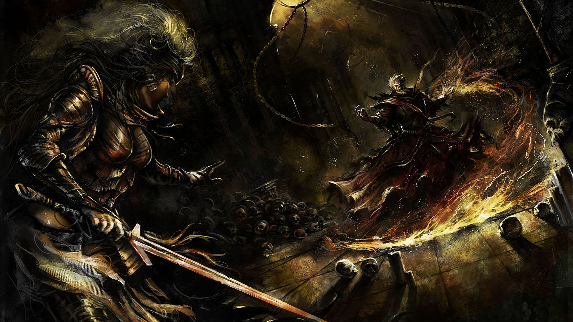 Epic Battle Wallpaper 1920x1080 Dark battle wallpaper 1920x1080