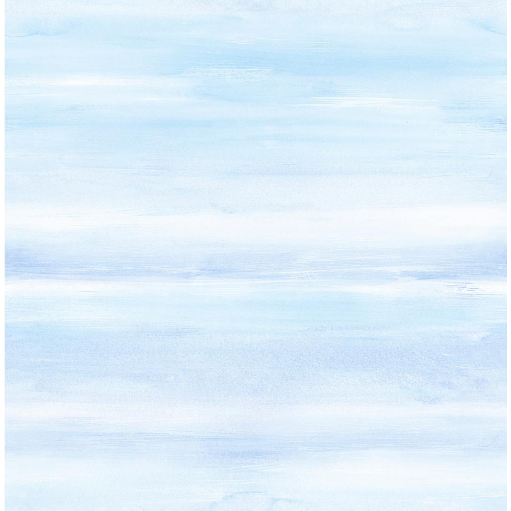 Seabrook Designs Kids Periwinkle and Sea Mist Watercolor Wash 1000x1000
