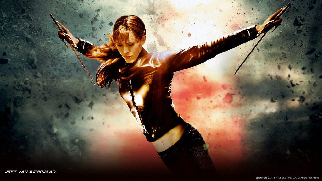 download Elektra Movie Wallpaper Jennifer Garner Elektra 1024x576