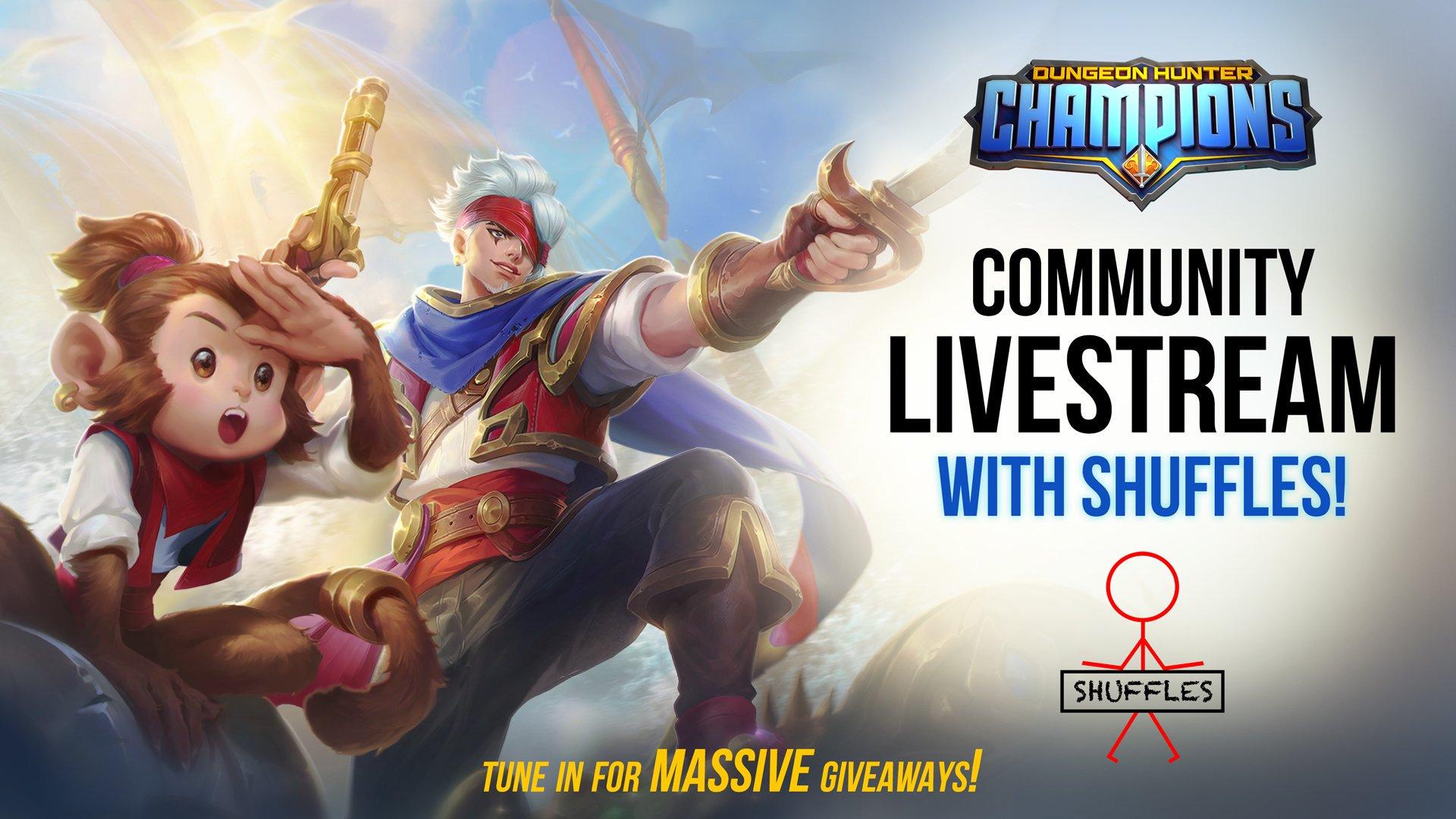 Dungeon Hunter Champions on Twitter Community member Shuffle 1920x1080