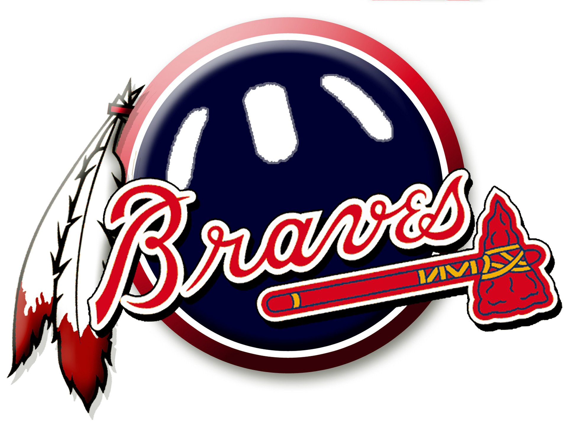 ATLANTA BRAVES baseball mlb f wallpaper background 1920x1440
