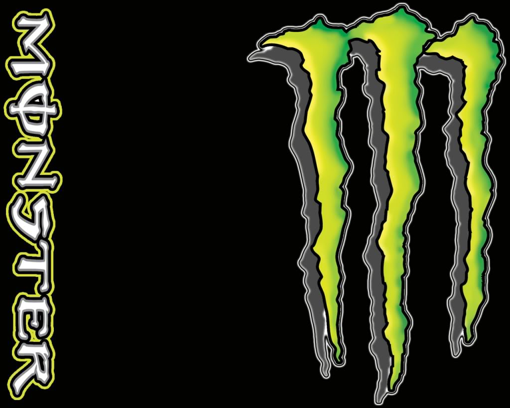 top new wallpapers Red Monster Energy Wallpaper 1024x819