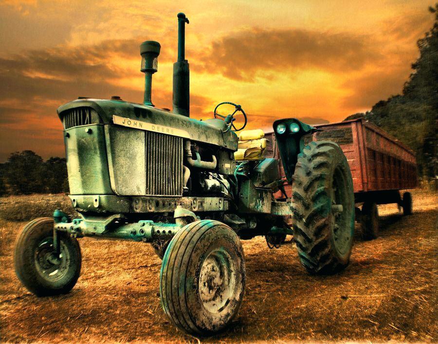 John Deere Wallpaper Old Tractors Small Full Hd   Tractor Hd 900x708