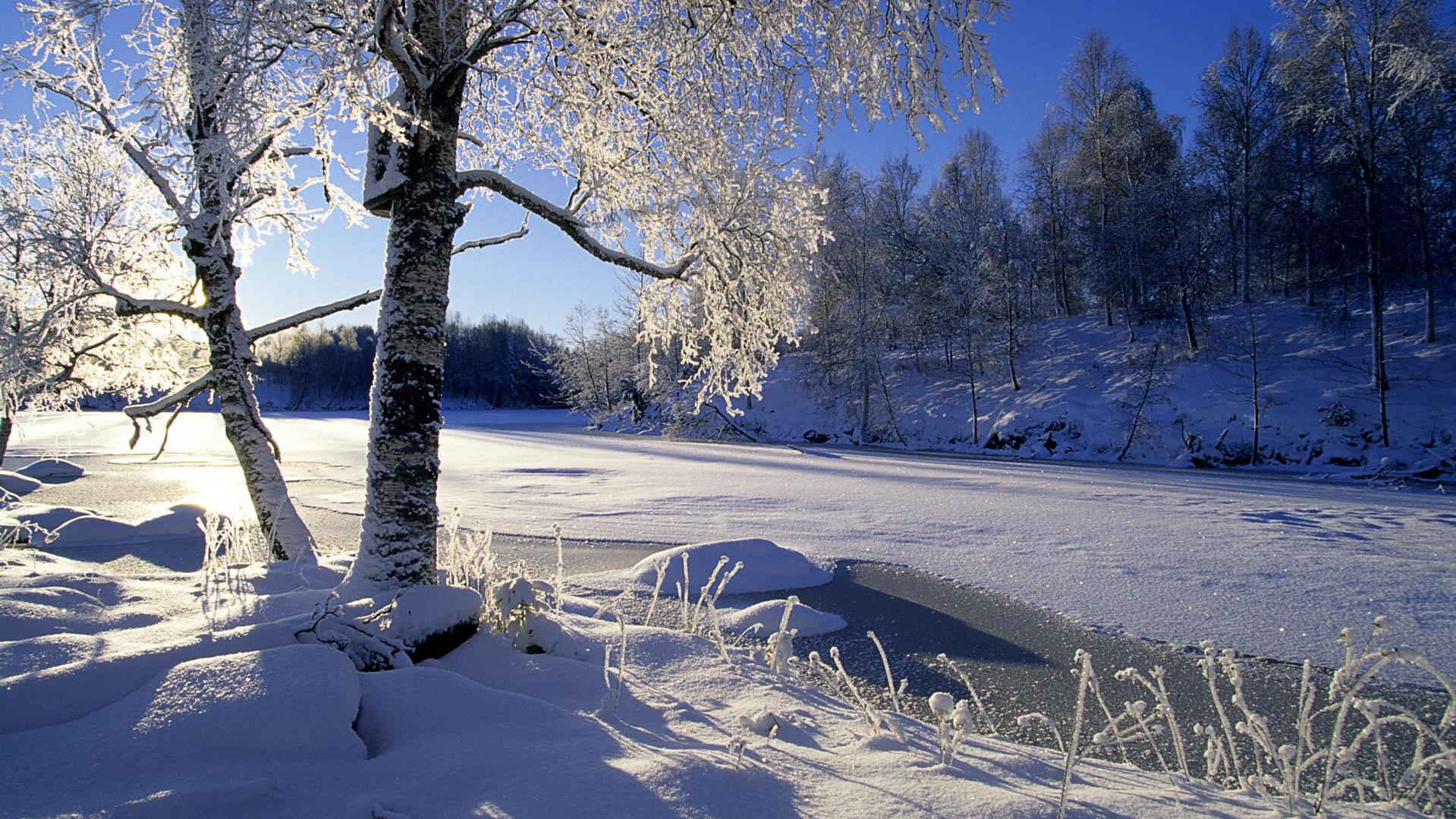 hintergrund winterbilder kostenlos