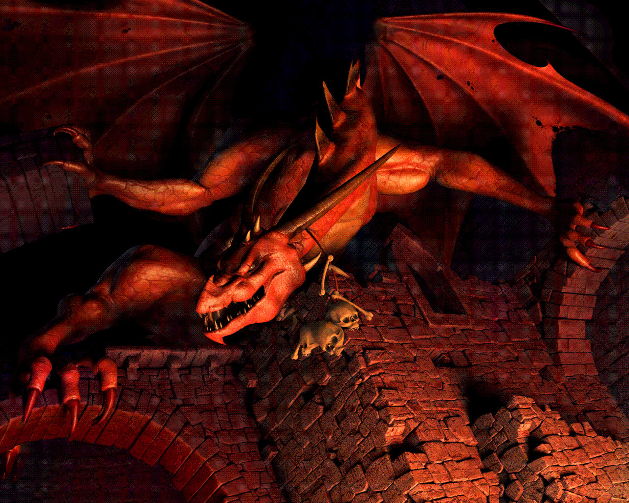 Red Dragon Wallpaper Free HD Backgrounds Images Pictures
