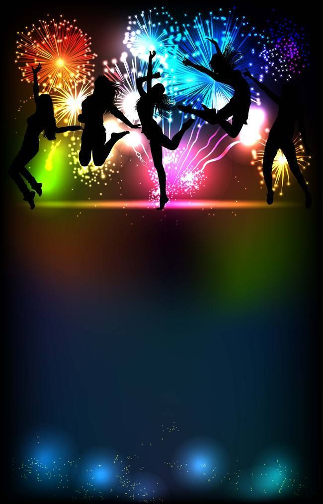Disco Dance Night Party Background Dance background Dance 650x1015