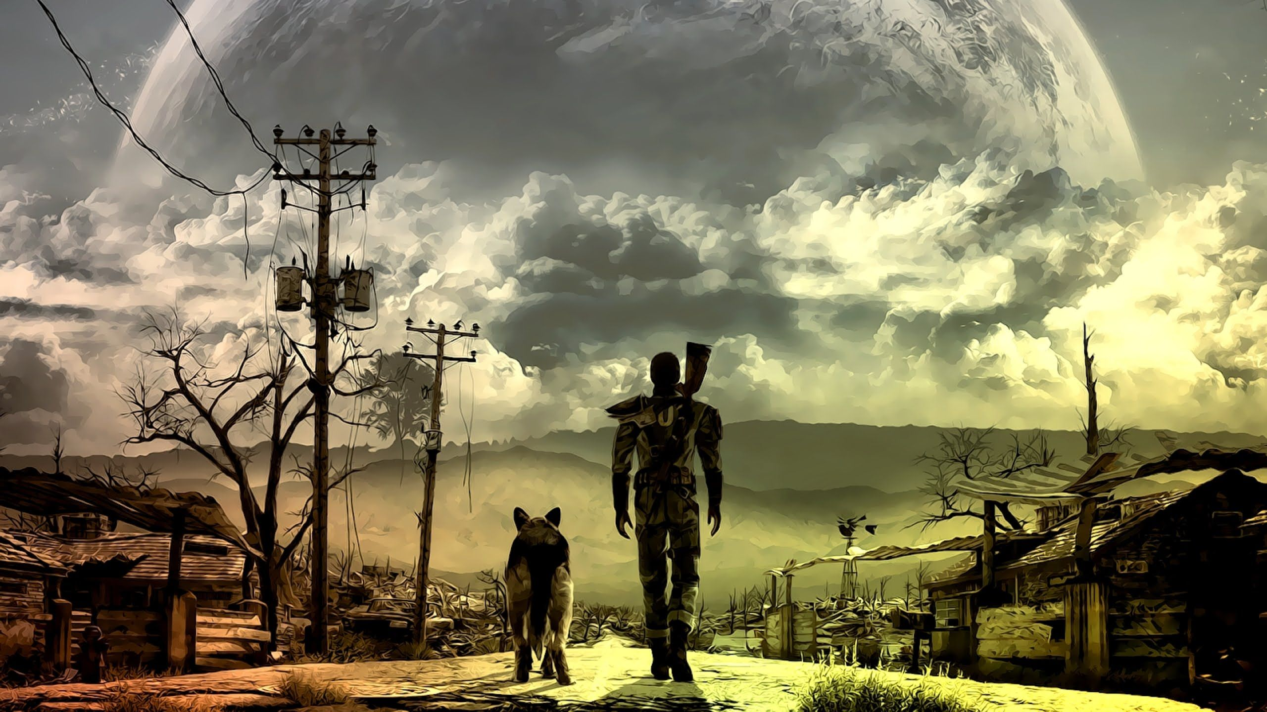 Fallout 4 background 2560x1440