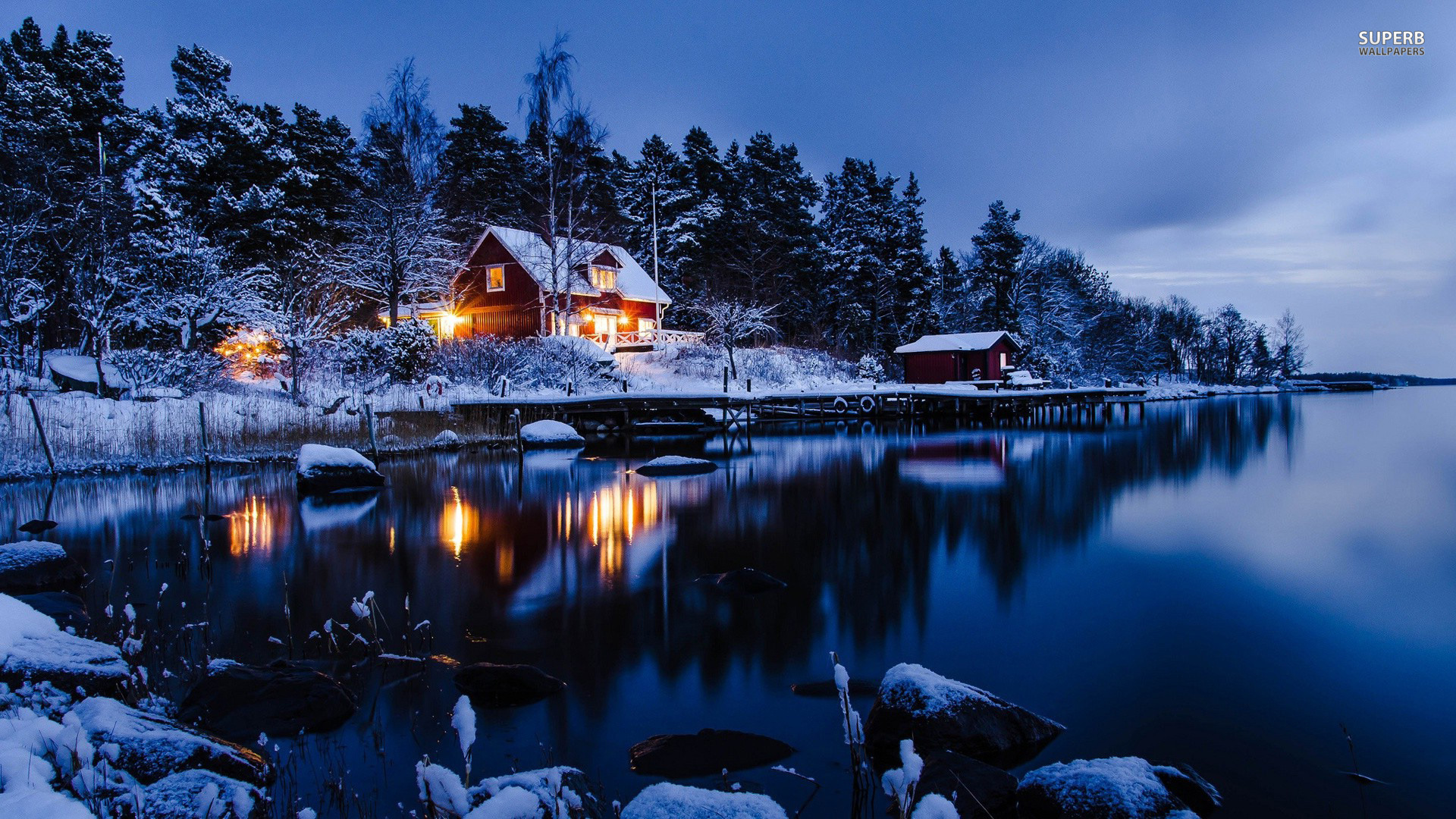 Log cabin in the woods winter - The Financial Fitness Show 6 Strategies For Cutting Winter Heating