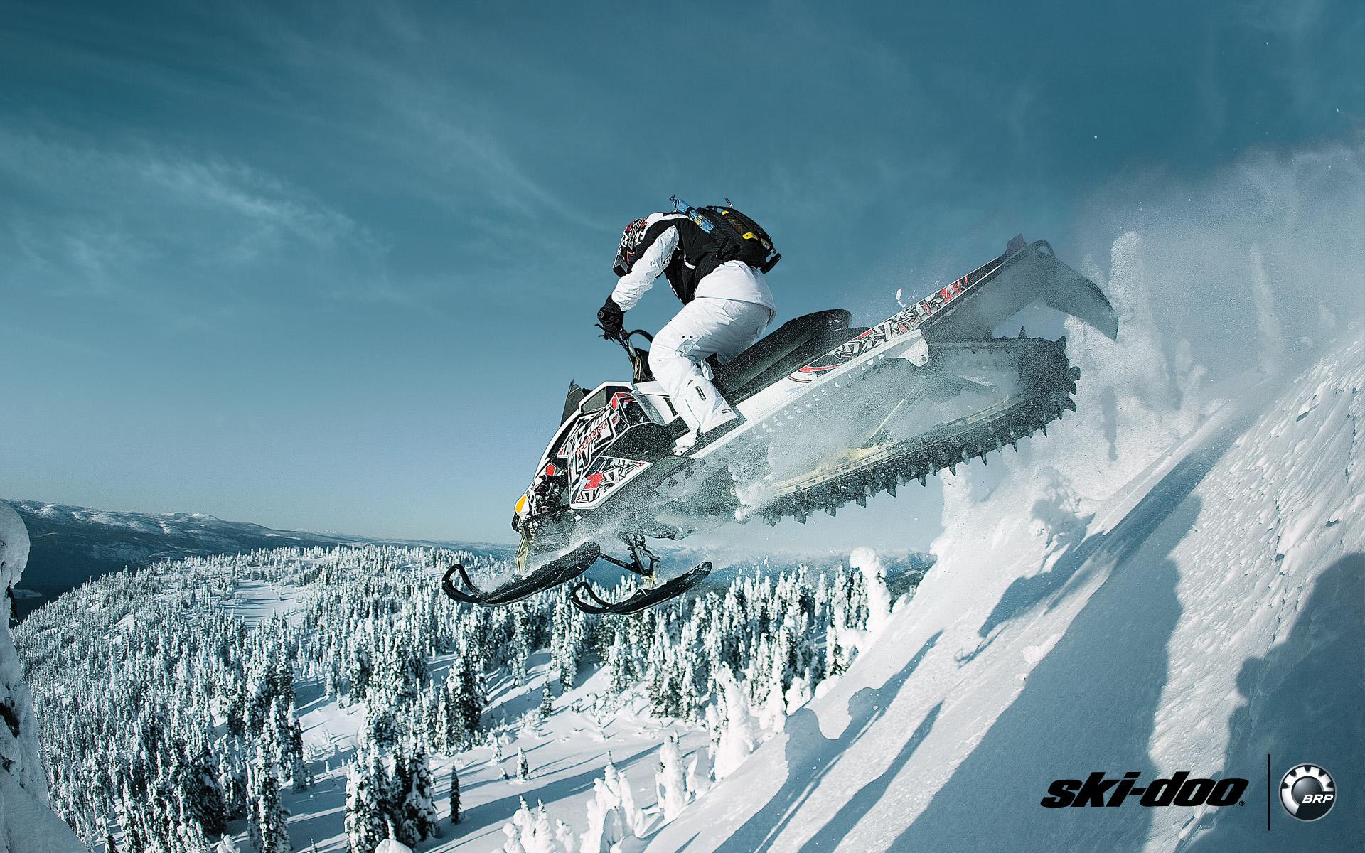 Ski Doo Background by Anthony Clayton on FeelGrafix 1920x1200