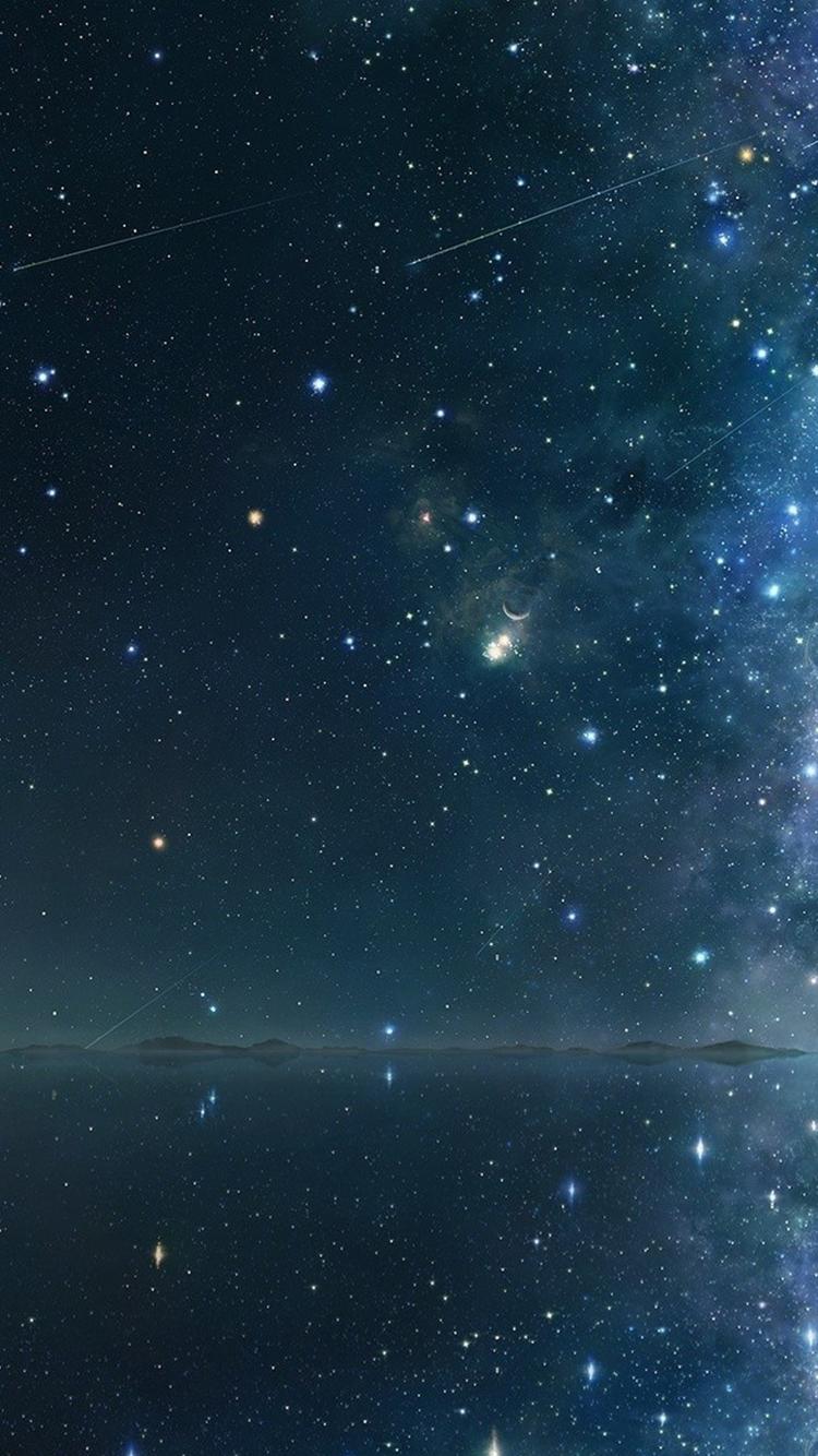 Night Sky Wallpaper iPhone  WallpaperSafari