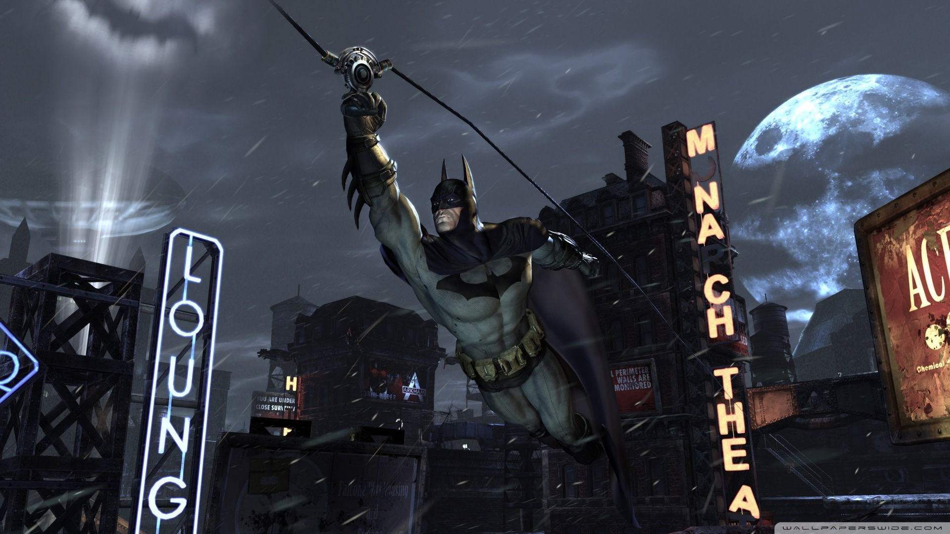 Batman Arkham City 9 Wallpaper 1920x1080 Batman Arkham City 9 1920x1080
