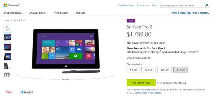 ... Surface Pro line of tablet has had to contend with supply issues ever