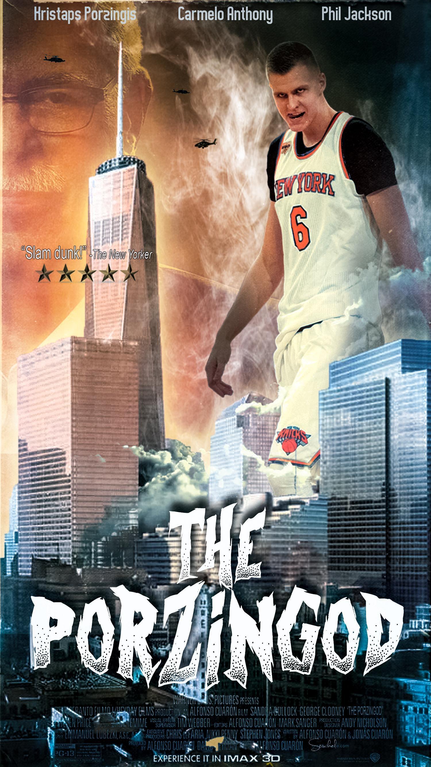 Kristaps Porzingis Knicks Wallpaper
