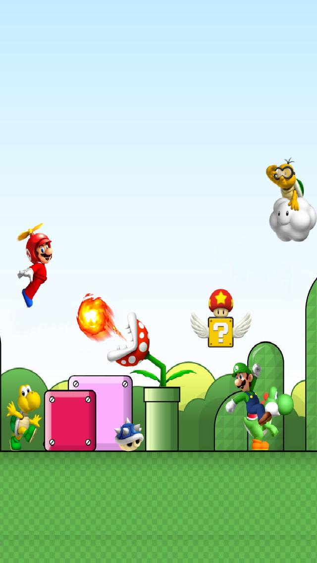 50 Super Mario Wallpaper Iphone On Wallpapersafari