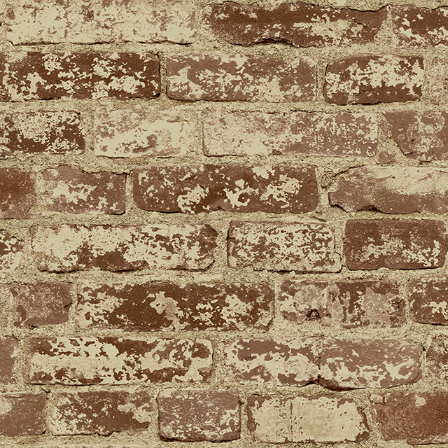 Weathered Stucco Brick   Rustic   Wallpaper   houston   by Total 640x640