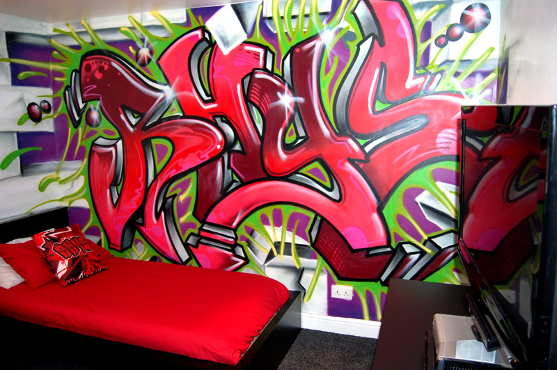 Graffiti Wallpapers For Bedrooms Top Wallpapers 800x532