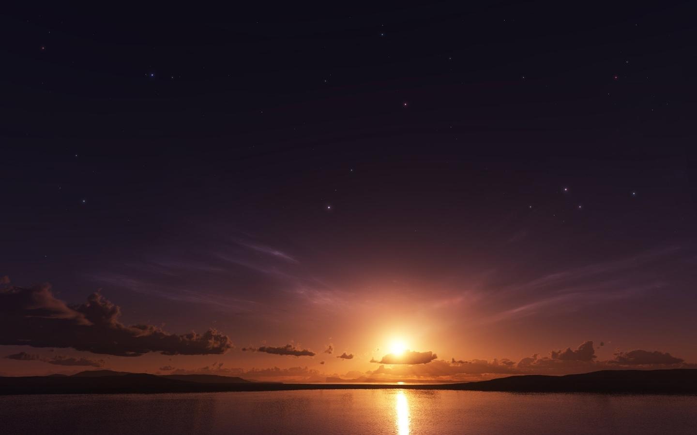 Sea Sunset Mac Wallpaper Download Mac Wallpapers Download 1440x900