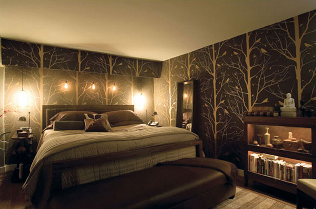 Free download Modern Wallpaper on Wall Room to Look More ...