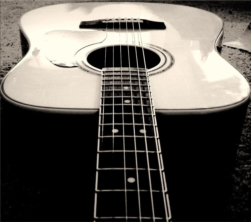 Wallpaper Hd Nature Guitar: White Guitar Wallpaper (74 Wallpapers)