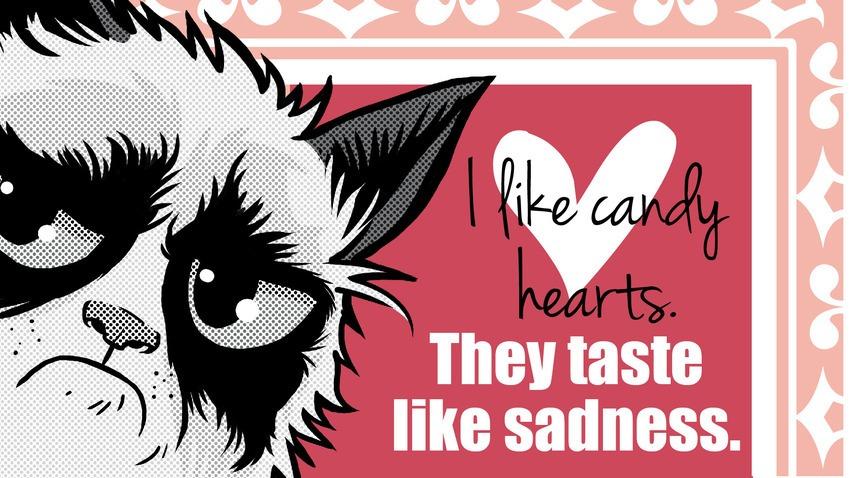 grumpy cat valentine attitude cover photos for facebook 16 850x478