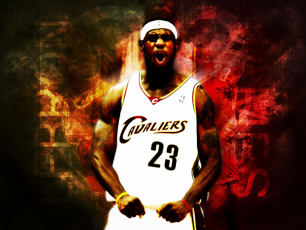 Lebron James Wallpapers Dunk 2015 1024x768
