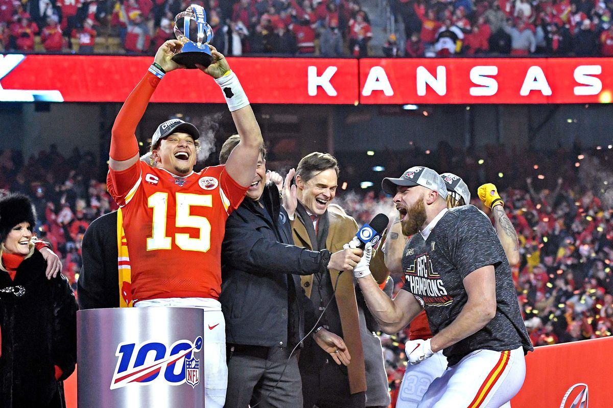 Kansas City Chiefs San Francisco 49ers to play in Super Bowl 54 1200x800