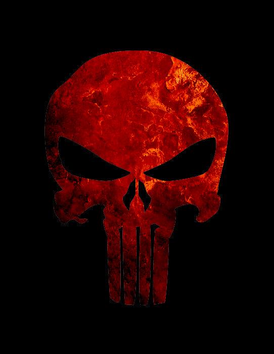 Punisher Logo Skull Punisher skull red by 542x700