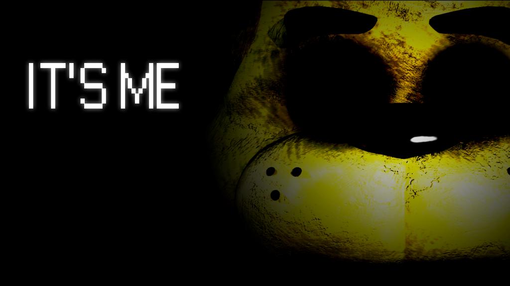 Five Nights At Freddys   Golden Freddy by Ayaxz Majora on 1024x576