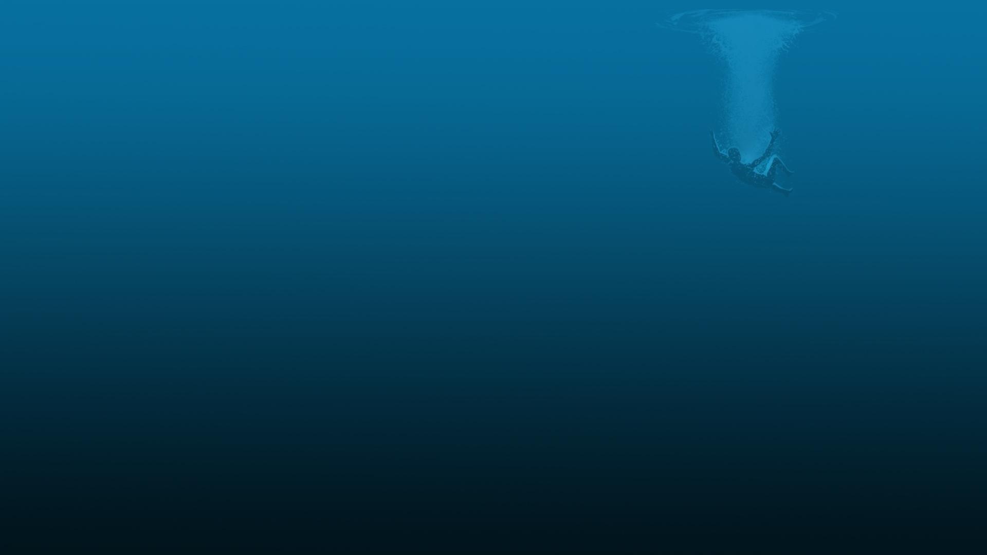 Deep Blue Wallpaper 1920x1080