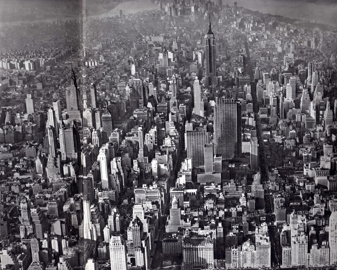 Black And White New York Wallpaper   Widescreen HD Wallpapers 1280x1024