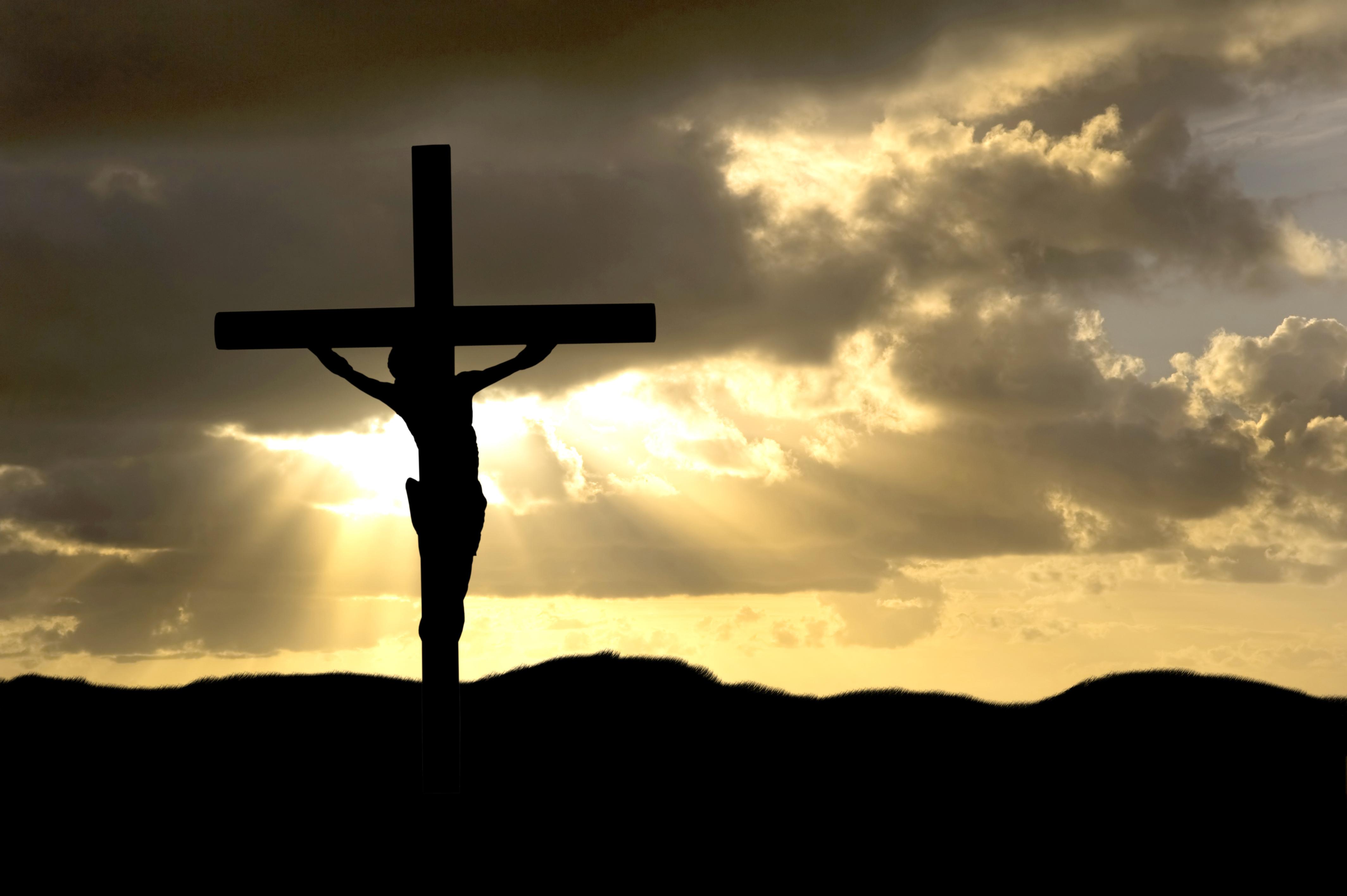 Wallpaper On the Cross Jesus 4256x2832