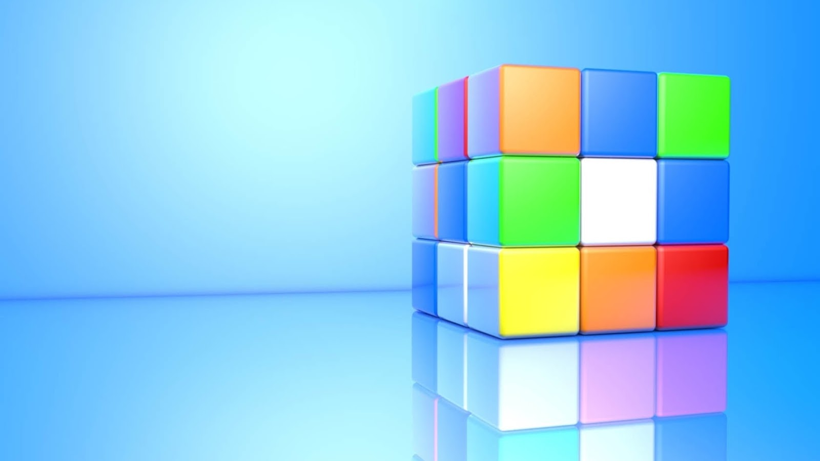 Mystery Wallpaper 3D Rubiks Cube 1600x900