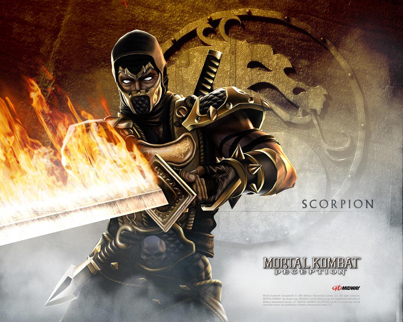Scorpion   Mortal Kombat Deception 1280x1024