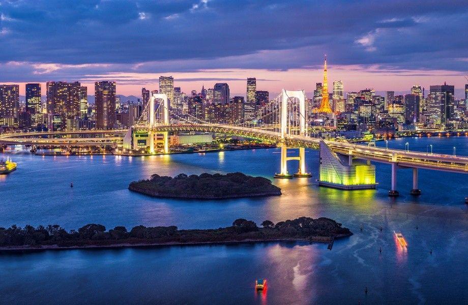 Tokyo skyline 4K Ultra HD wallpaper 4k WallpaperNet nature 920x600