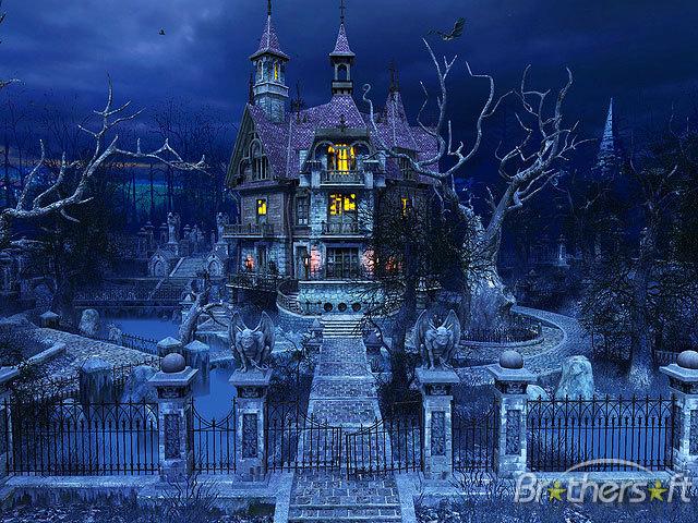 Haunted House 3D Screensaver Haunted House 3D Screensaver 640x480