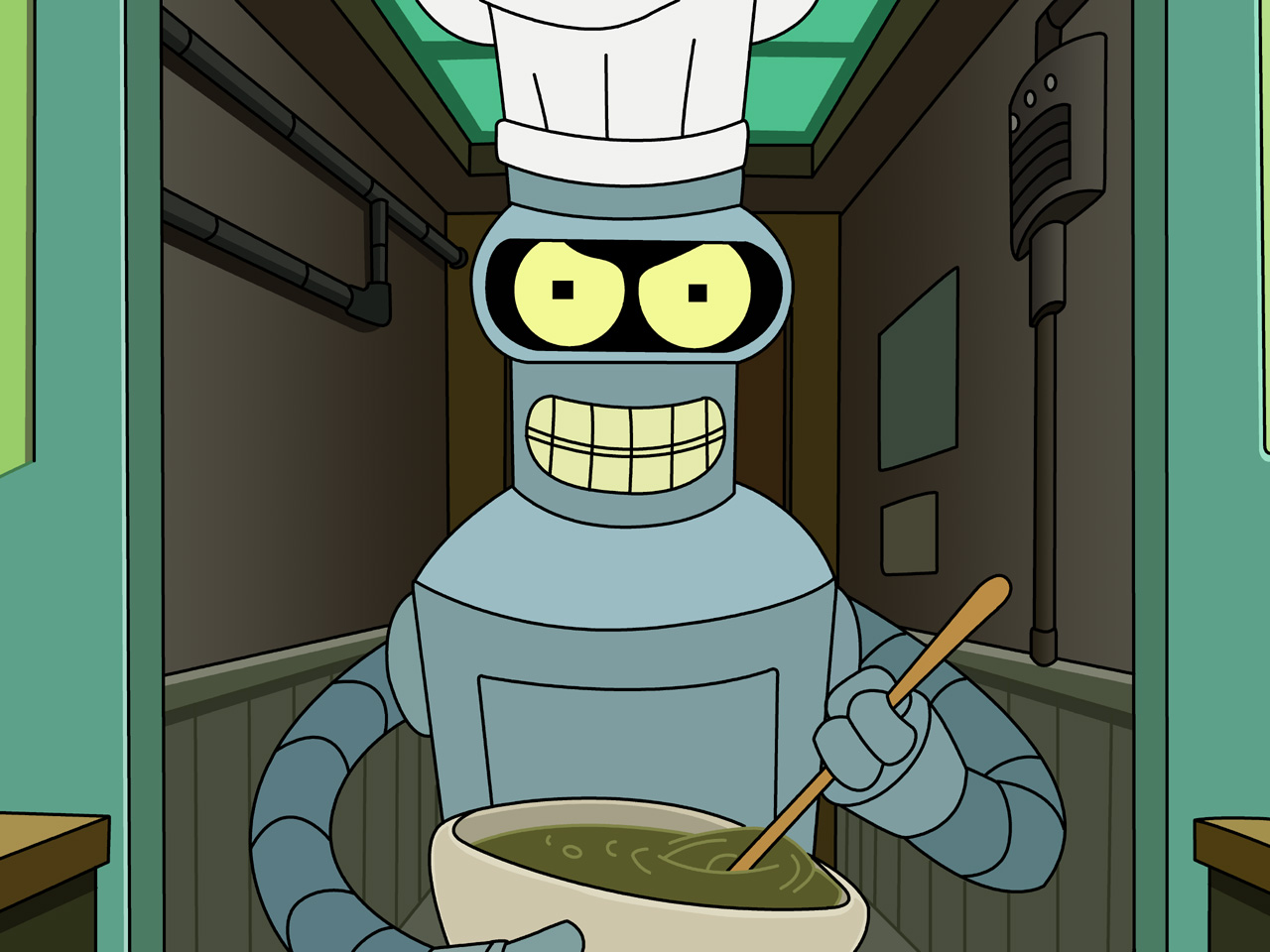 Bender Wallpaper 1280x1024 1280x960