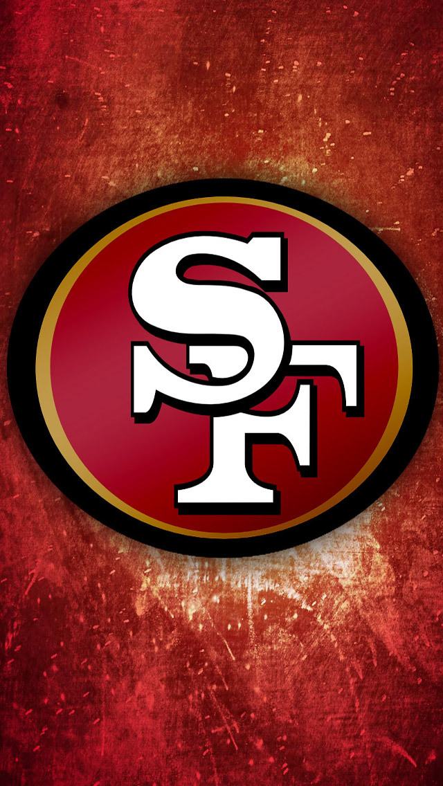 San Francisco 49ers Logo iPhone 5 Wallpaper 640x1136 640x1136
