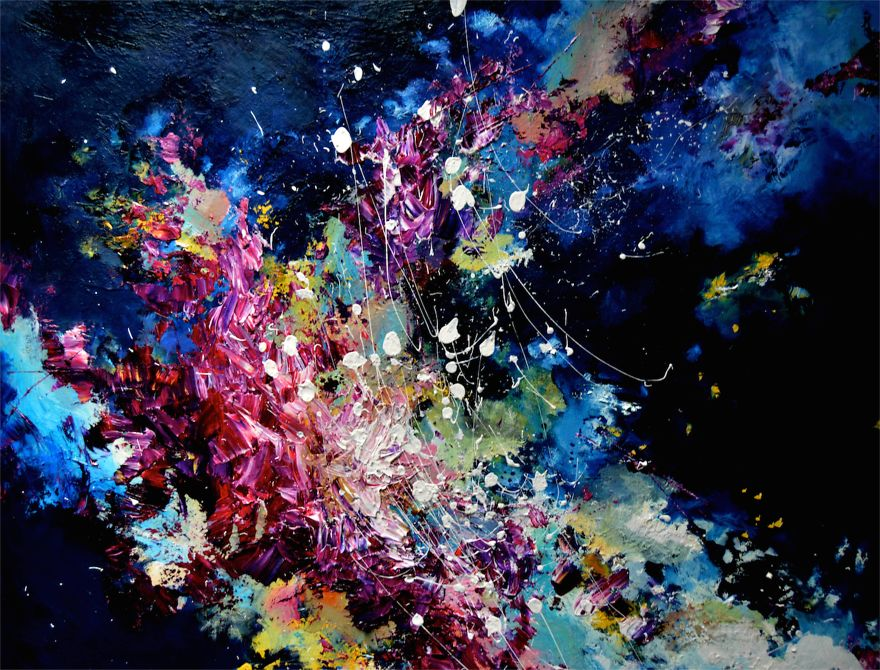 I See Music Because I Have Synesthesia So I Decided To Paint What 880x670