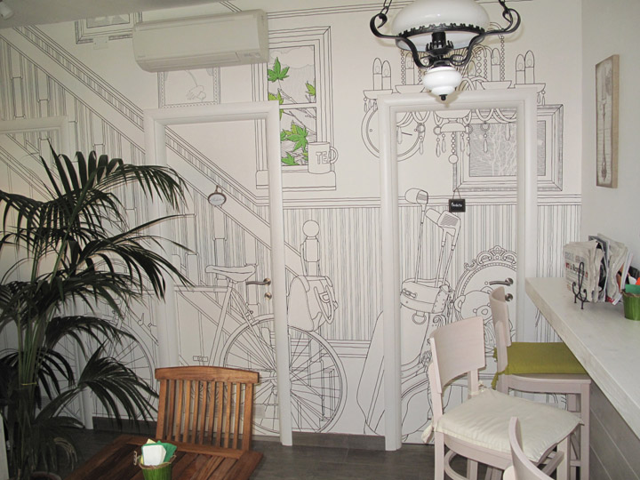 wallpaper design Vitality of Glamora Creative Wallcoverings to 720x540