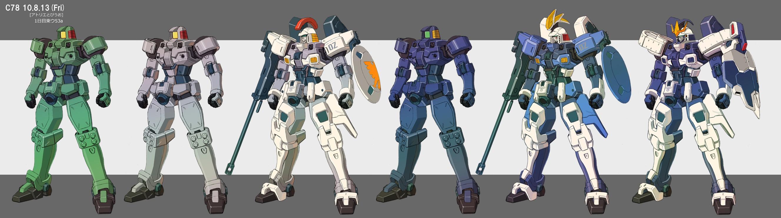 Gundam Wing Wallpaper 2655x744 Gundam Wing 2655x744