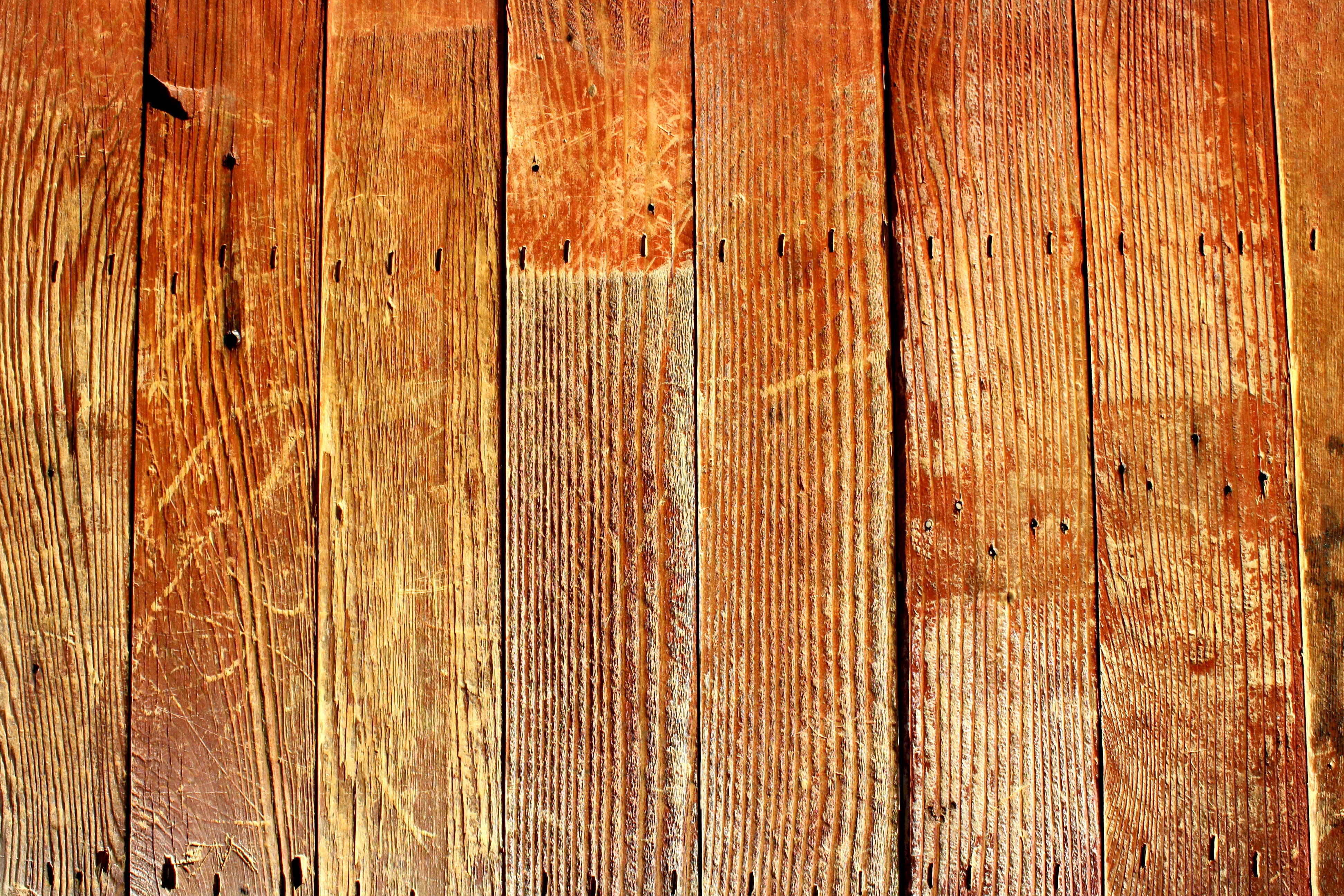 Antique Wood Boards Scratched Old Wooden Boards 3888x2592
