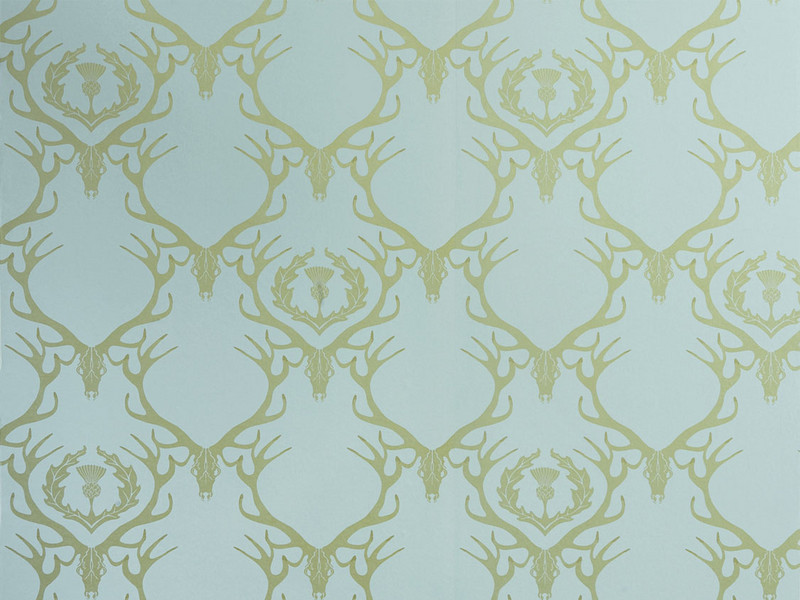 Deer Damask Wallpaper by Barnaby Gates Nestlette 800x600