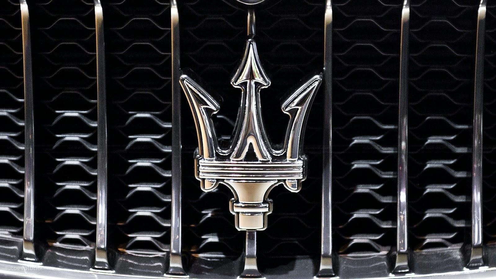 Maserati Logo 1600x900