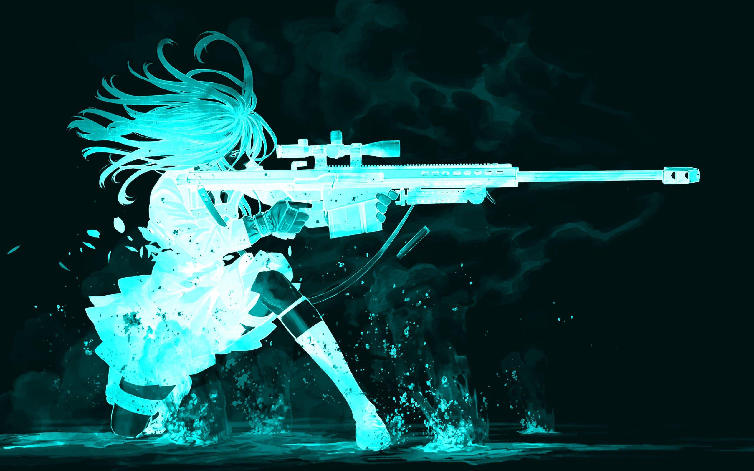 anime gun wallpaper wallpapersafari